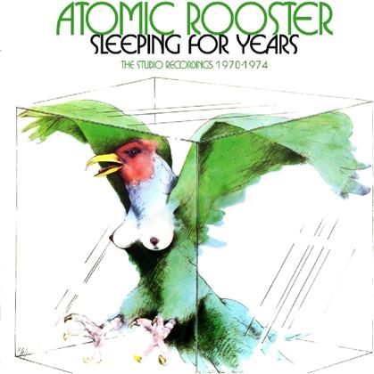 Atomic Rooster - Sleeping For Years - Box-Set (4 CDs)