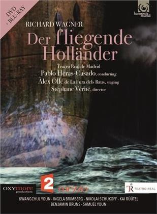 Orchestra of the Teatro Real Madrid, Pablo Heras-Casado & Kwangchul Youn - Wagner - Der Fliegende Hollander (Harmonia Mundi, Blu-ray + DVD)