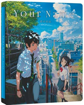 Your Name. (2016) (Steelbook, Blu-ray + DVD + CD)