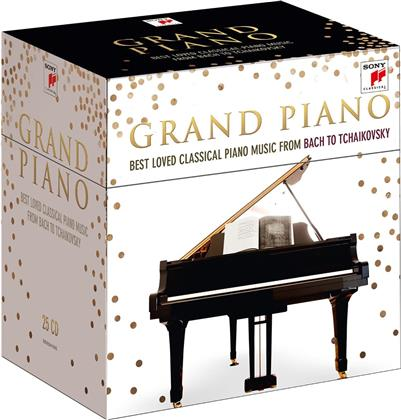 Grand Piano - Best of Classical Piano Music (25 CDs)