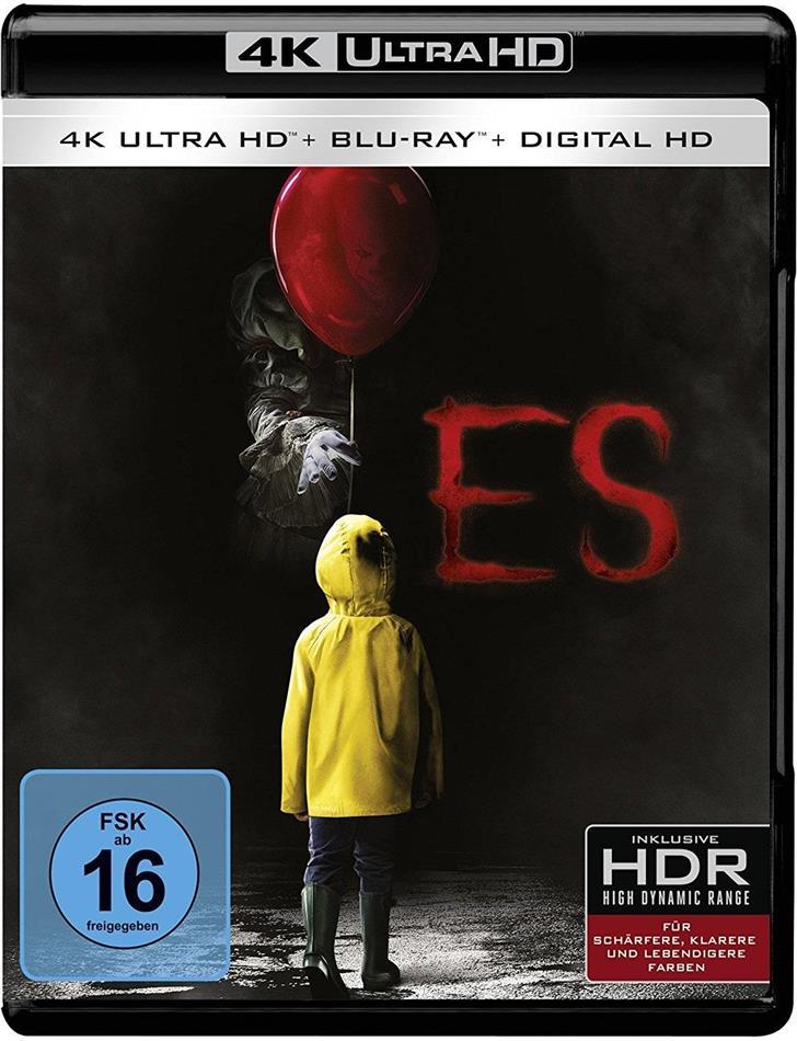 Es (2017) (4K Ultra HD + Blu-ray)