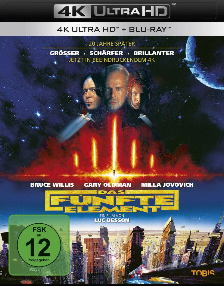 Das fünfte Element (1997) (4K Ultra HD + Blu-ray)