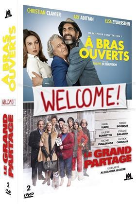 Welcome ! - À bras ouverts / Le grand partage (2 DVDs)