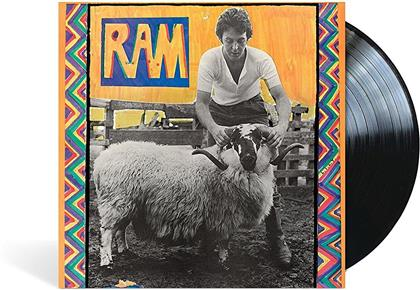 Paul McCartney & Linda McCartney - Ram (2017 Reissue, LP + Digital Copy)