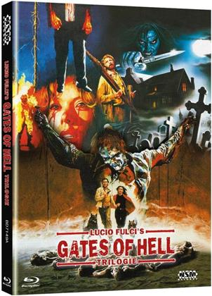 Lucio Fulci's Gates of Hell Trilogie (Cover A, Limited Edition, Mediabook, 3 Blu-rays)