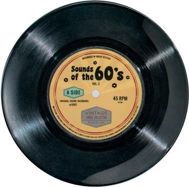 "Vintage Audio - Melamin Teller ""60's"" - 1 Stück"