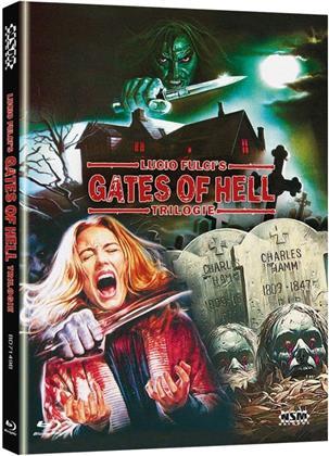 Lucio Fulci's Gates of Hell Trilogie (Cover B, Limited Edition, Mediabook, 3 Blu-rays)