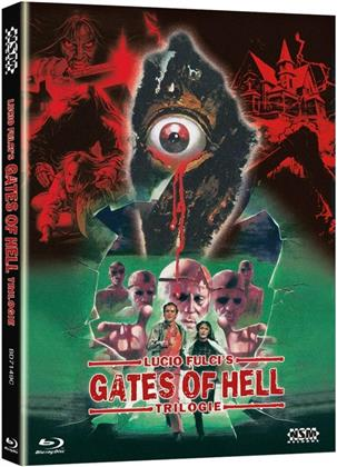Lucio Fulci's Gates of Hell Trilogie (Cover C, Limited Edition, Mediabook, 3 Blu-rays)
