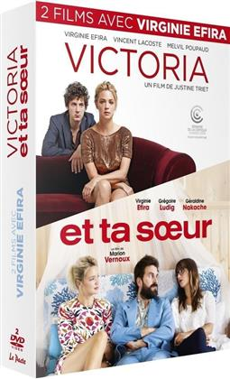 2 films avec Virginie Efira - Victoria / Et ta soeur (2 DVDs)