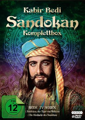 Sandokan - Komplettbox (Fernsehjuwelen, 6 DVDs)