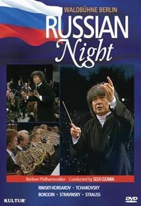 Berliner Philharmoniker & Seiji Ozawa - Tchaikovsky / Strauss,R. / Ozawa - Waldbuhne Concert: Russian Night
