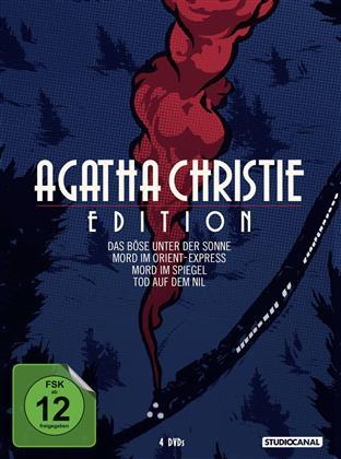 Agatha Christie Edition - Das Böse unter der Sonne / Mord im Orient-Express / Mord im Spiegel / Tod auf dem Nil (Remastered, 4 DVDs)