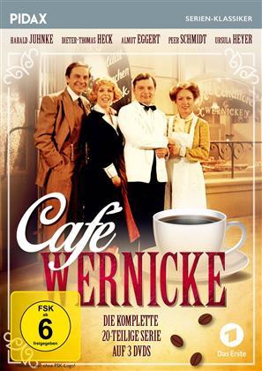 Café Wernicke - Die komplette Serie (Pidax Serien-Klassiker, 3 DVDs)