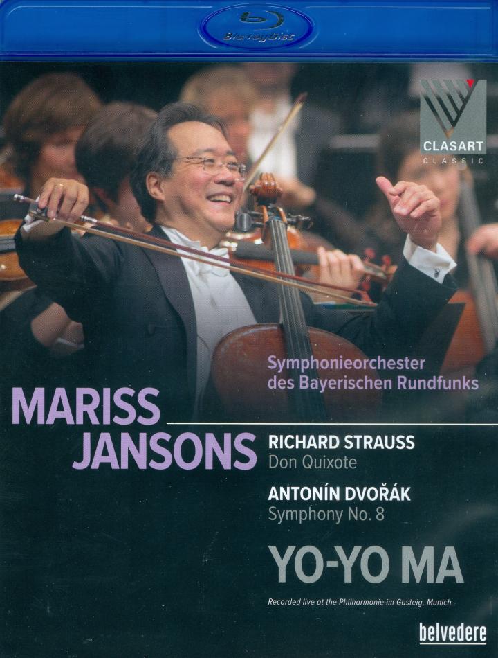 Bayerisches Rundfunkorchester, Mariss Jansons & Yo-Yo Ma - Dvorák - Symphony No. 8 / Strauss - Don Quixote (Belvedere)