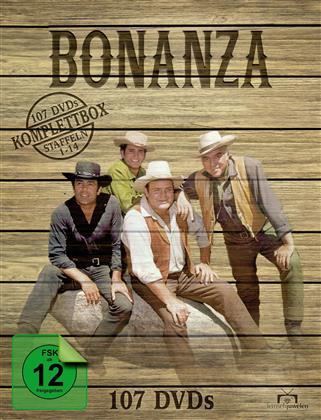 Bonanza - Komplettbox - Staffeln 1-14 (Fernsehjuwelen, 107 DVDs)
