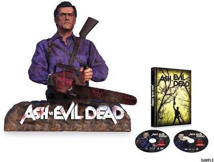 Ash vs Evil Dead - Staffel 1 (+ Büste, Mediabook, 2 Blu-rays)