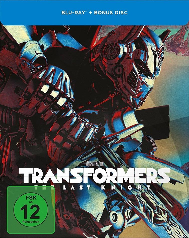 Transformers 5 - The Last Knight (2017) (Limited Edition, Steelbook, 2 Blu-rays)