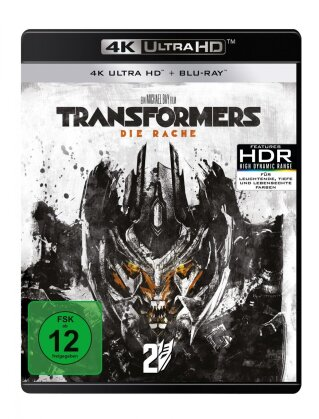 Transformers 2 - Die Rache (2009) (4K Ultra HD + Blu-ray)