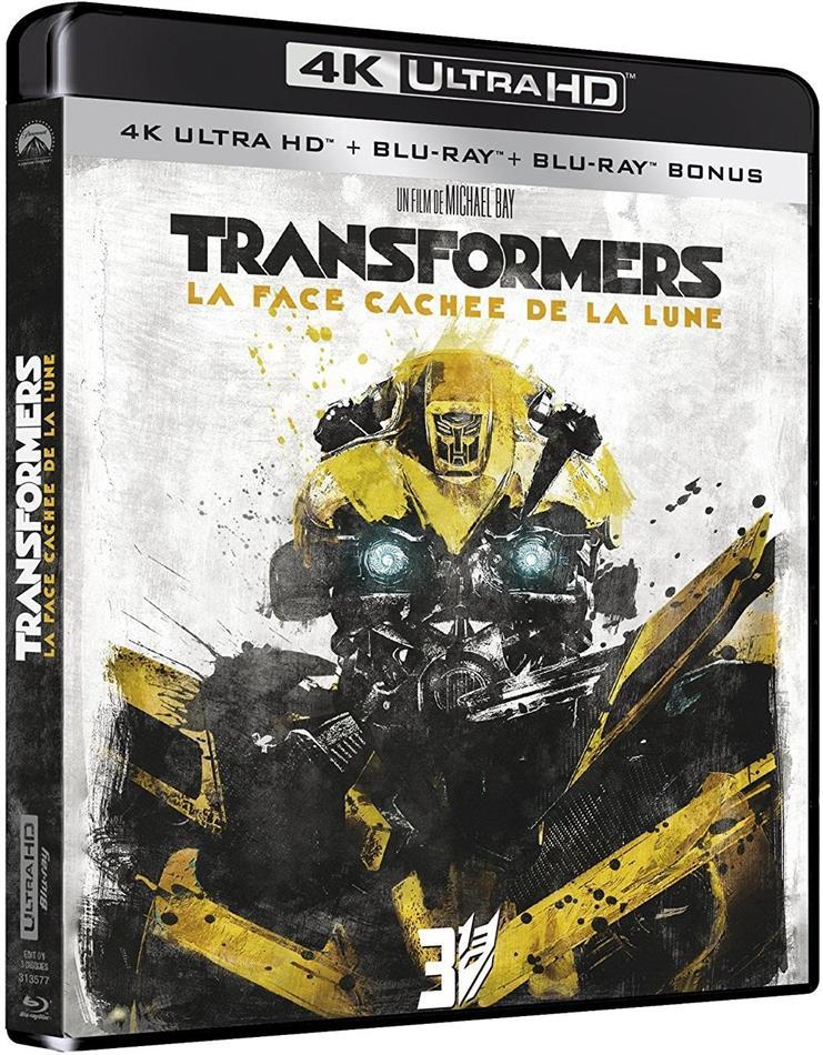 Transformers 3 - La Face cachée de la lune (2011) (4K Ultra HD + 2 Blu-rays)