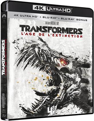 Transformers 4 - L'âge de l'extinction (2014) (4K Ultra HD + 2 Blu-rays)