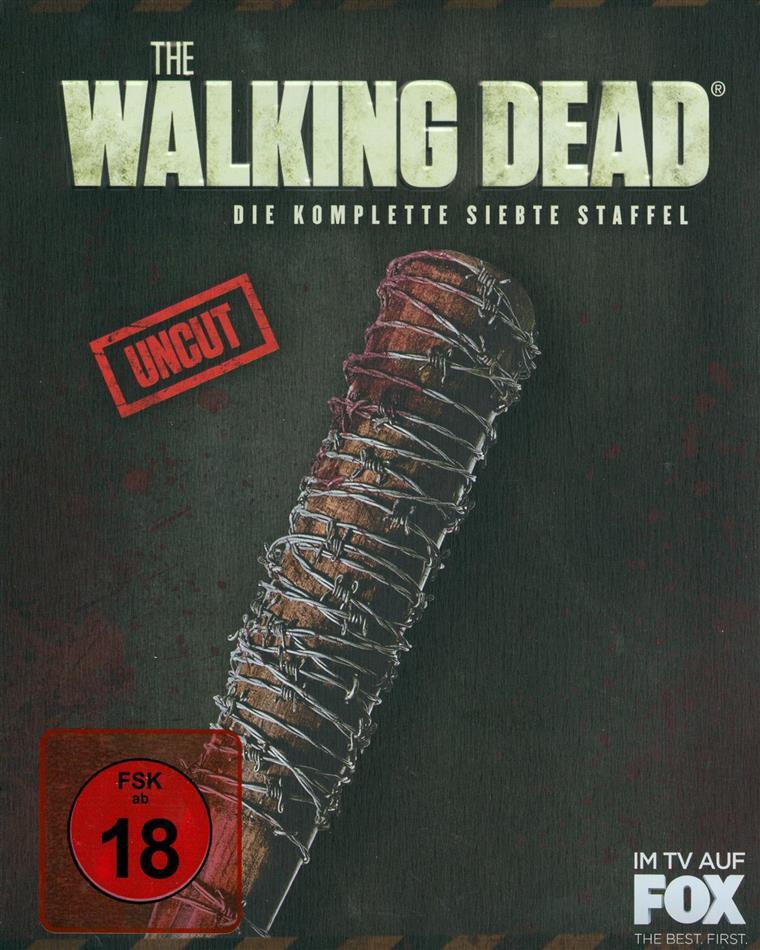 The Walking Dead - Staffel 7 (Limited Edition, Special Edition, Steelbook, Uncut, 6 Blu-rays)