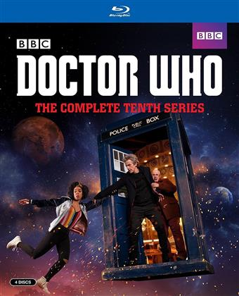 Doctor Who - Season 10 (BBC, 4 Blu-ray)