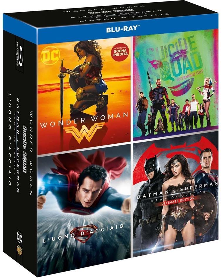 DC 4 Movies - Boxset (4 Blu-ray)