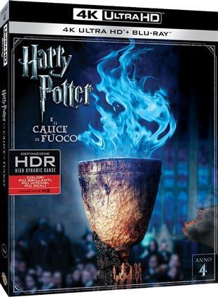 Harry Potter a il calice di fuoco (2005) (4K Ultra HD + Blu-ray)