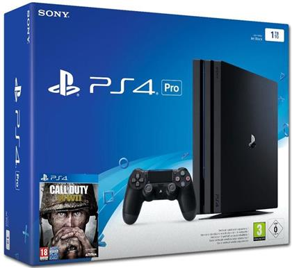 Sony Playstation 4 1TB Pro + Call of Duty : WW II + Thats You Voucher