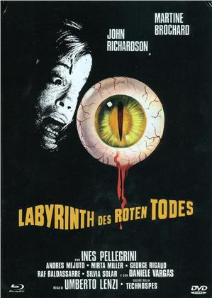 Labyrinth des roten Todes (1975) (Cover C, Eurocult Collection, Giallo Serie, Limited Edition, Mediabook, Uncut, Blu-ray + DVD)