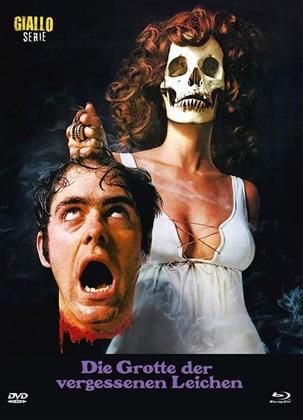 Die Grotte der vergessenen Leichen (1971) (Cover B, Eurocult Collection, Giallo Serie, Limited Edition, Mediabook, Blu-ray + DVD)