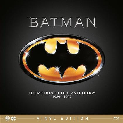 Batman 1989-1997 (Vinyl Edition, 4 Blu-ray)