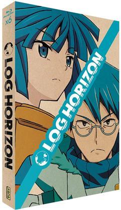 Log Horizon - Intégrale - Saison 1 + 2 (Collector's Edition, Limited Edition, 6 Blu-rays)