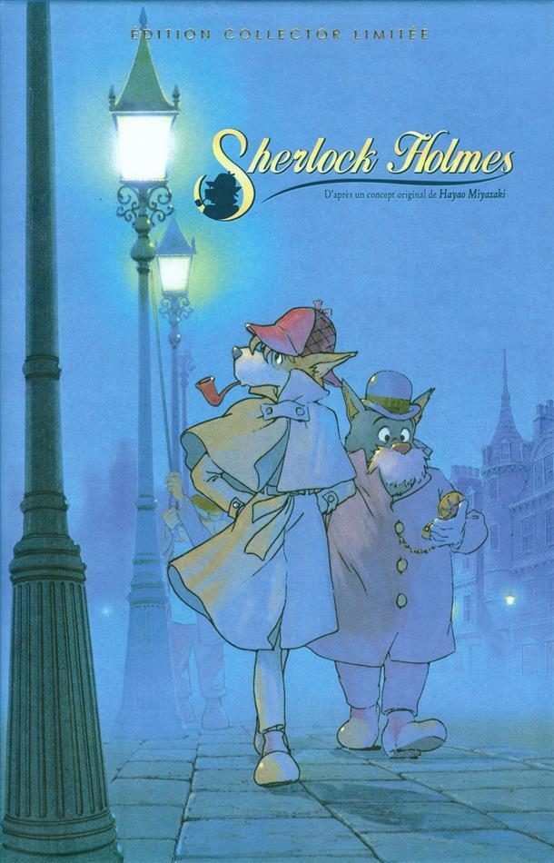 Sherlock Holmes - Intégrale de la série TV (1984) (Version inédite, Édition Collector, Édition Limitée, Version Remasterisée, 2 Blu-ray + 4 DVD)