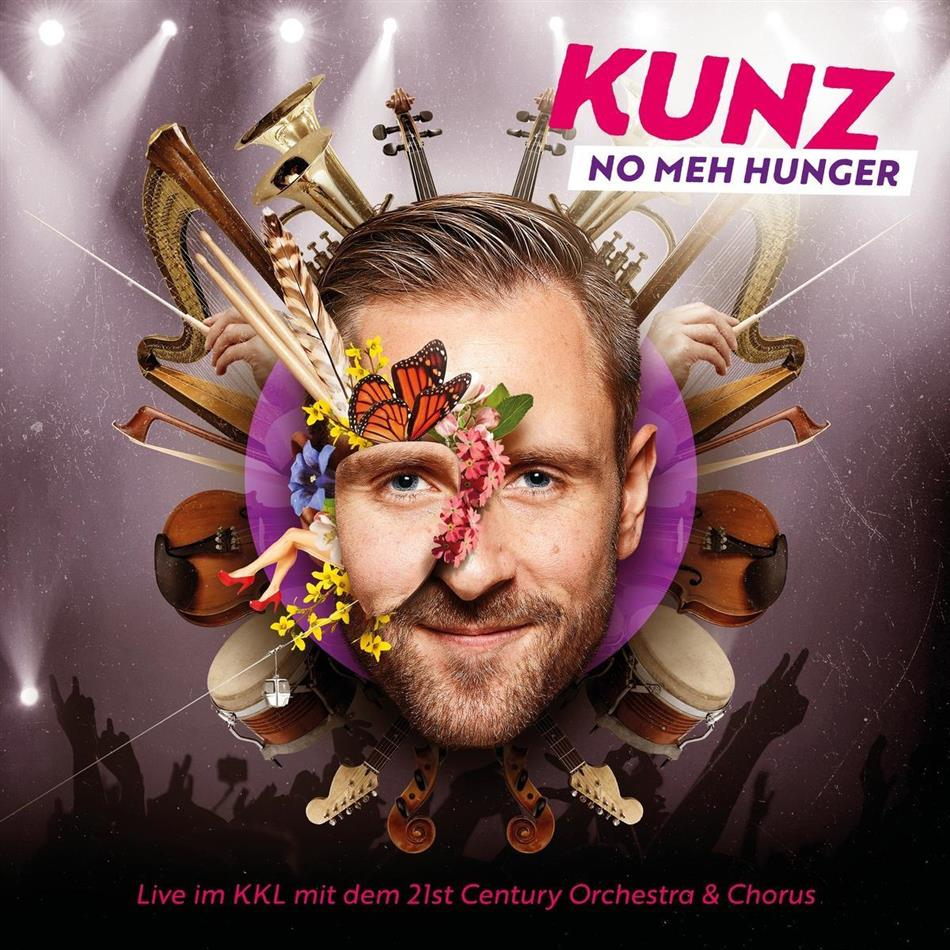 Kunz - No Meh Hunger (2 CDs + DVD)