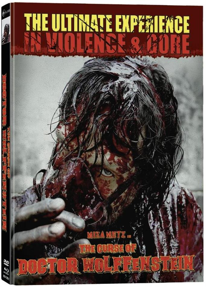 The Curse of Doctor Wolffenstein (2015) (Cover C, Director's Cut, Limited Edition, Mediabook, Unrated, Blu-ray + DVD)