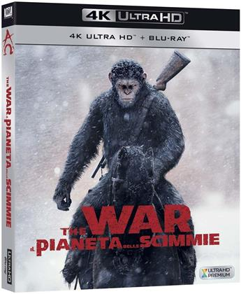 The War - Il pianeta delle scimmie (2017) (4K Ultra HD + Blu-ray)