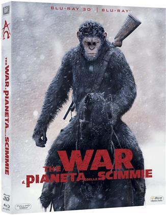 The War - Il pianeta delle scimmie (2017) (Blu-ray 3D + Blu-ray)