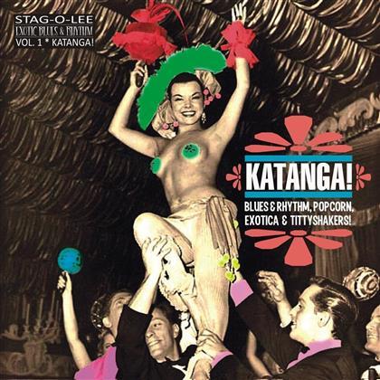 V/A - Katanga! Exotic Blues & Rhythm (Clear Vinyl, LP)