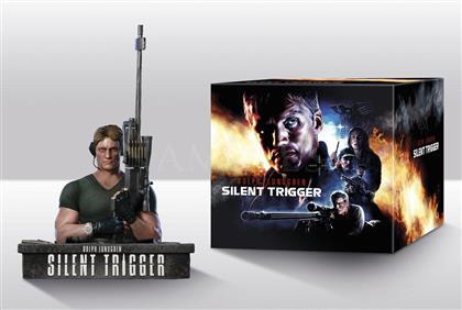 Silent Trigger (1996) (+ Büste, Limited Edition, Mediabook, Remastered, Uncut, Blu-ray + DVD)