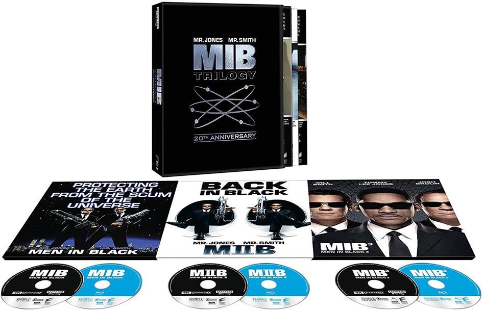 Men in Black Trilogy (20th Anniversary Collection, 3 4K Ultra HDs + 3 Blu-ray)