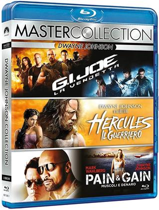 Dwayne Johnson Collection (Master Collection, 3 Blu-rays)