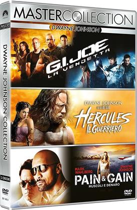 Dwayne Johnson Collection (Master Collection, 3 DVDs)