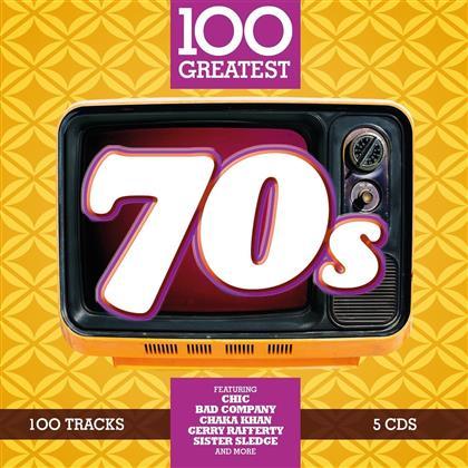 100 Greatest - 70's (5 CDs)