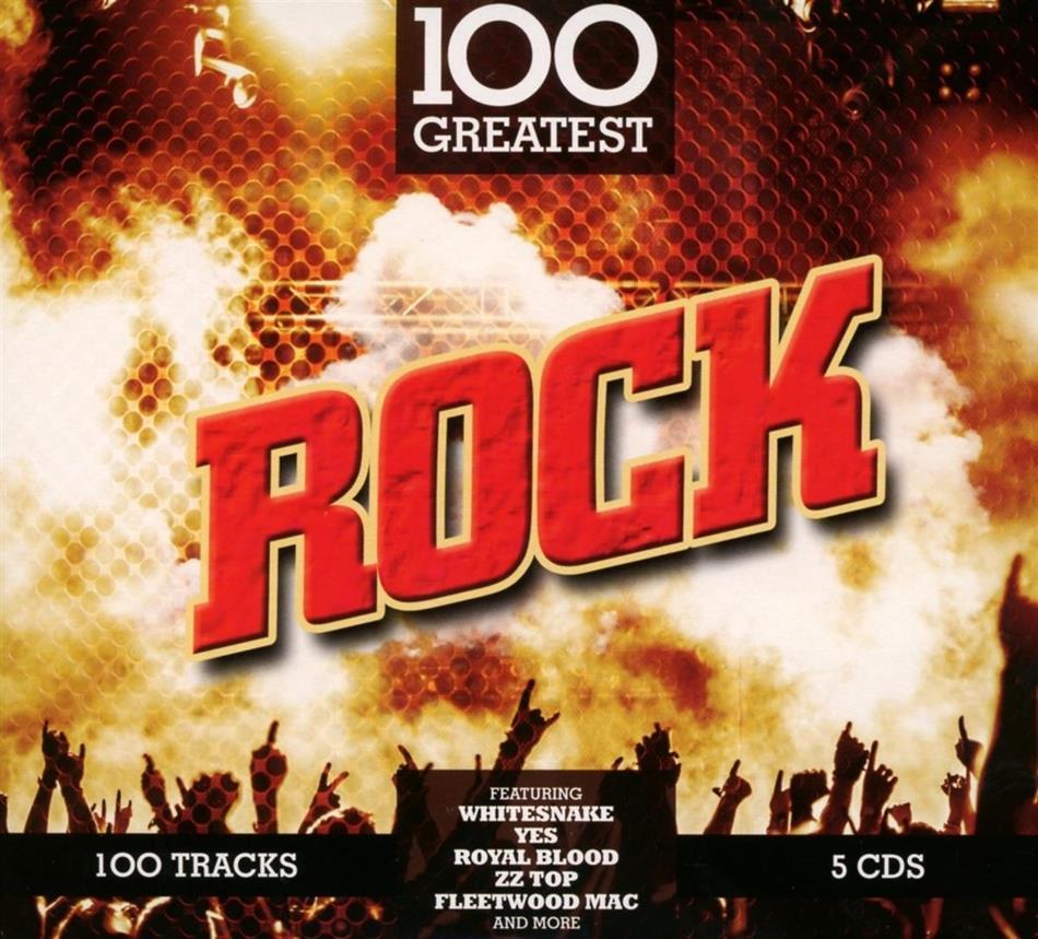 100 Greatest Rock Songs (5 CDs)