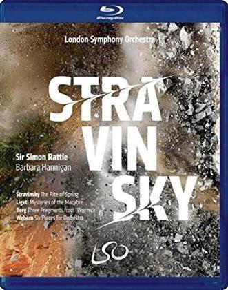 London Symphony Orchestra, Sir Simon Rattle, … - Stravinsky (Blu-ray + DVD)