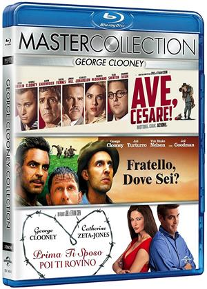 George Clooney Collection (Master Collection, 3 Blu-ray)
