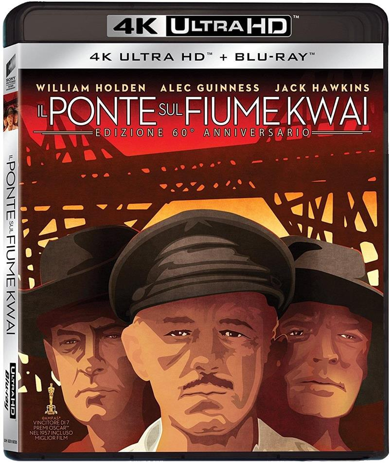 Il ponte sul fiume Kwai (1957) (60th Anniversary Edition, 4K Ultra HD + Blu-ray)