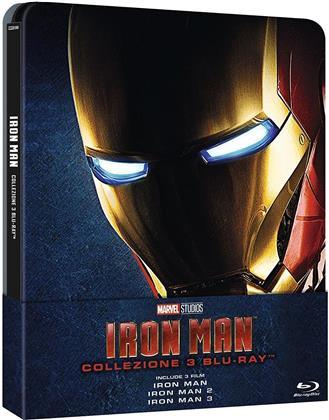 Iron Man Trilogia (Limited Edition, Steelbook, 3 Blu-rays)