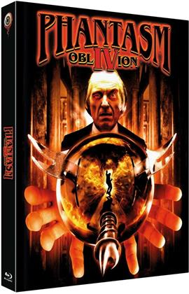 Phantasm 4 - Oblivion (1998) (Cover B, Limited Edition, Mediabook, Uncut, Blu-ray + DVD)